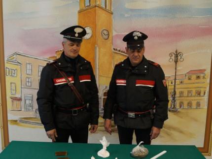 Sequestro droga Carabinieri a Marotta