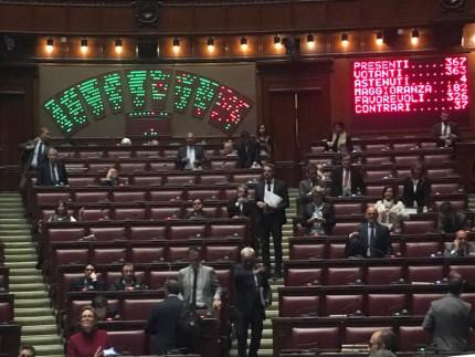 La votazione dei parlamentari sul testamento biologico: la Camera ha approvato il testo sulle Disposizioni Anticipate di Trattamento