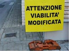 Modifiche alla viabilità, modifiche alla circolazione stradale