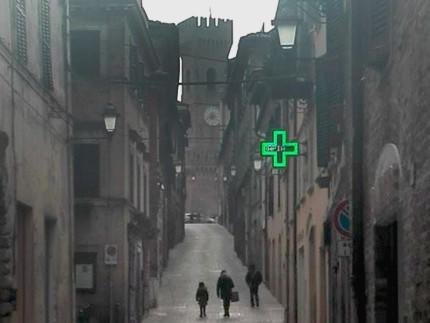 Corso Mazzini, ad Ostra