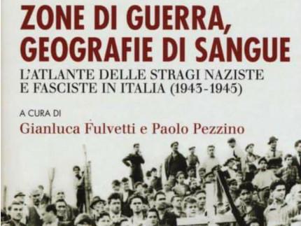 """Copertina libro """"Zone di guerra, geografie di sangue"""""""
