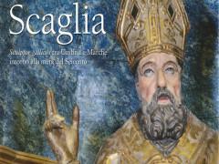 La locandina del libro del prof. Mancini sullo scultore Leonardo Scaglia