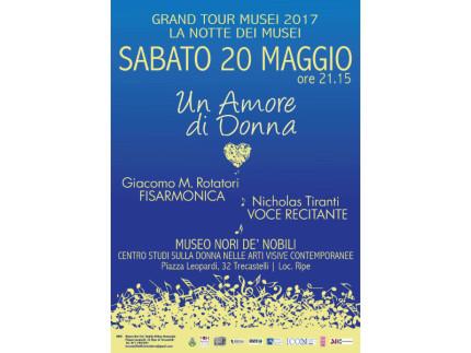 """Al Museo Nori De' Nobili il Concerto """"Un Amore di Donna"""""""
