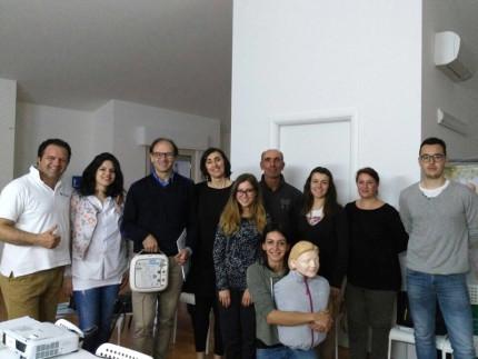 Rianimazione e defibrillatori, svolto il corso blsd a Castelleone di Suasa