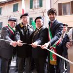 """L'inaugurazione a Corinaldo della sede della sezione """"Ciro Perugini"""" dell'Associazione Nazionale Artiglieri d'Italia"""