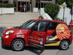 L'auto social di Marche Express