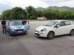 Rintracciata dalla Polizia Stradale di Fabriano l'auto del pirata della strada che ha investito una persona a Corinaldo