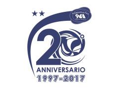 Il logo per i 20 anni della Polisportiva Avis Ostra Vetere