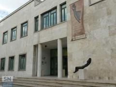 Il palazzo Nuova Gioventu (ex Gil) in viale Leopardi