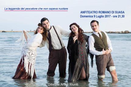 In foto Domenico Macrì, Eleonora De Luca, Teo Guarini, Agnese Fallongo
