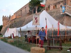 Accampamento medievale alla Festa Castellana di Scapezzano