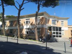 Il laboratorio analisi presso l'ospedale di Senigallia