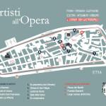 """Ostra diventa un grande atelier all'aperto: """"Artisti all'Opera"""" per le vie del centro storico. La mappa"""
