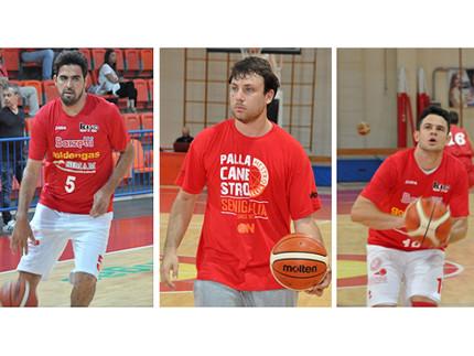 Mirco Pierantoni, Fabio Giampieri e Michael Bertoni