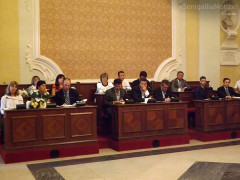 Primo consiglio comunale post elezioni a Senigallia - la maggioranza