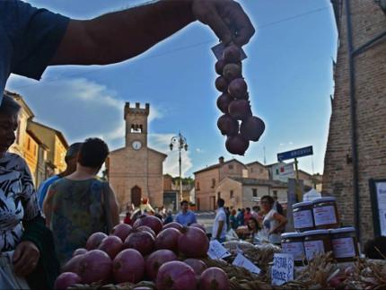 La festa della cipolla a Castelleone di Suasa