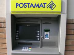 Postamat, bancomat, uffici postali, poste