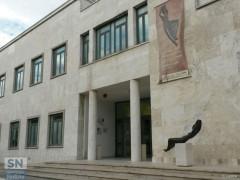 Il palazzo ex Gil di viale Leopardi, a Senigallia