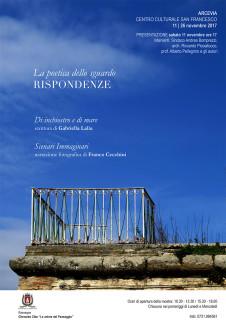 La poetica dello sguardo - Rispondenze - Mostra ad Arcevia - locandina