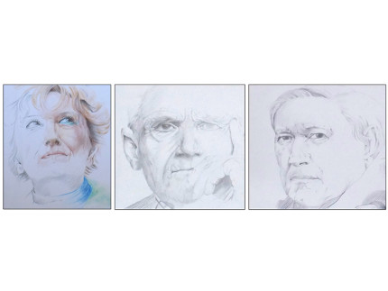 Ritratti di Antonio Delle Rose in mostra a Trecastelli
