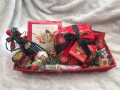 Cesti natalizi confezionati da Caffespresso Senigallia