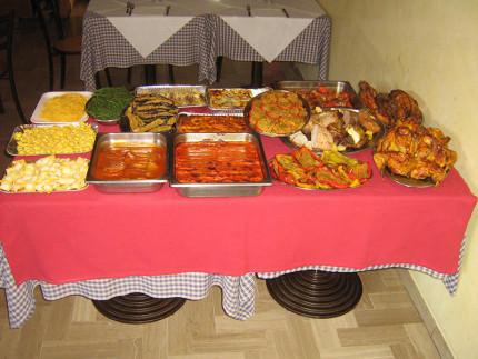 Primi piatti, secondi e contorni del Ristorante Rosticceria Lo-Li di Senigallia