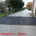 Situazione strade a Ostra - via Ringhiera a Casine