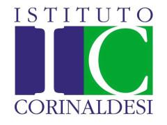 logo dell'Istituto Tecnico Commerciale e per Geometri Corinaldesi di Senigallia
