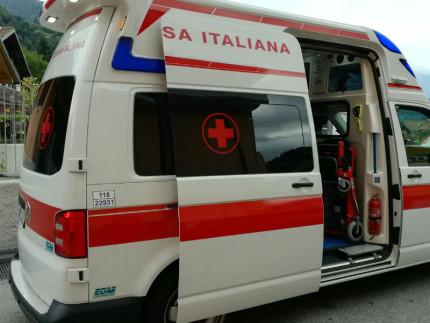 Croce Rossa, ambulanza, 118