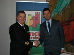 Anci Marche e la Guardia Costiera di Ancona siglano l'accordo