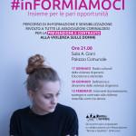 #InFormiamoci, prevenzione e contrasto alla violenza sulle donne