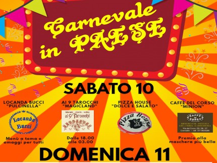 Carnevale 2018 a Corinaldo