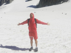 Tommaso Conz e l'Ultra Trail du Mont Blanc