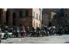 i bikers hanno ricordato Mimmo Senesi