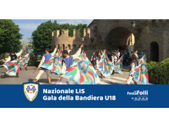 Gala della Bandiera Under18 e Nazionale Italiana Sbandieratori e Musici alla Festa dei Folli