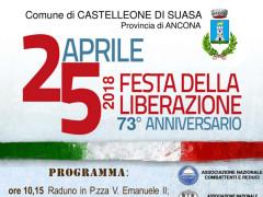 Liberazione d'Italia: 73° Anniversario