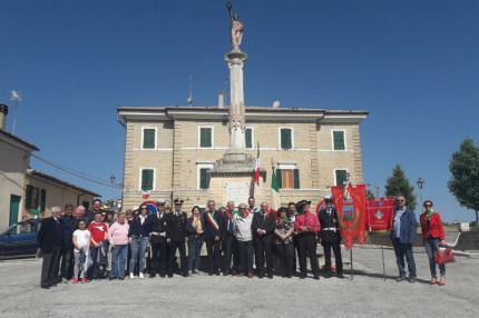 Castel Colonna (Trecastelli): festa della Liberazione