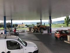 Colpo al distributore di metano di Trecastelli
