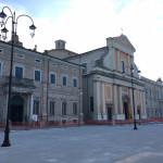 Nuovi lampioni in piazza Garibaldi a Senigallia
