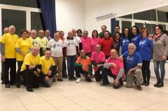 La finale del torneo di burraco al circolo al Cesano di Senigallia, prova valida per il Palio Uisp 2017