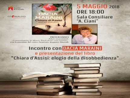 Dacia Maraini a Corinaldo