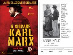Il Giovane Karl Marx - Io e Annie - locandine