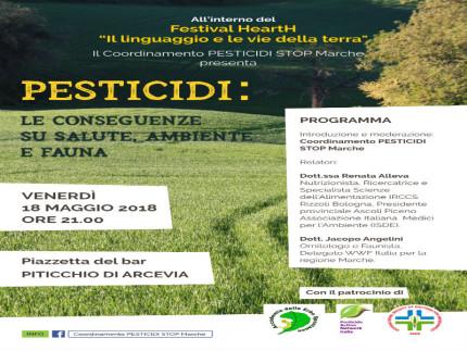 Incontro sui pesticidi