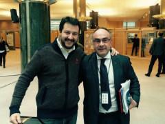 Matteo Salvini e la Lega sostengono l'elezione a sindaco di Massimo Bello