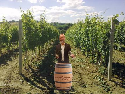 Roberto Venturi e l'Azienda vinicola Venturi di Castelleone di Suasa
