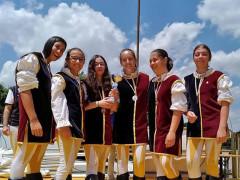 """Podio per i giovani under 18 del """"Combusta Revixi"""" al Campionato Nazionale Sbandieratori e Musici"""