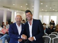 Inaugurazione Raffaello Hotel a Senigallia - Franco Sebastianelli e Maurizio Mangialardi