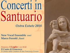"Ad Ostra il ""concerto in santuario"" con New Vocal Ensemble"