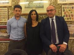 Massimo Bello, Giuseppina Codias e Andrea Santini