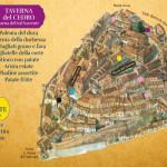 Taverne di Corinaldo, piantina